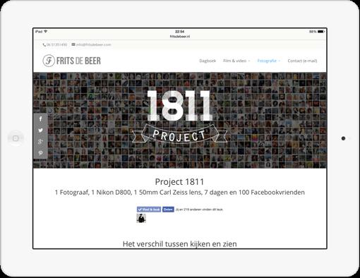 Frits de Beer: Project 1811